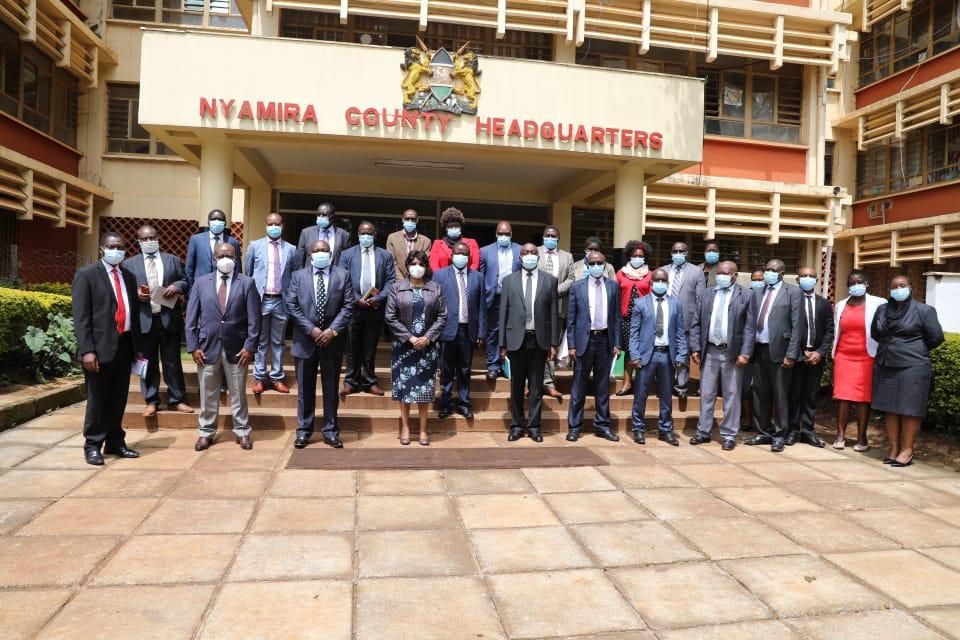 Nyamira, Nandi Systems Review Kicks Off